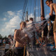 Wasser – vieeeeel Wasser! :) Deckwaschen auf der Ambiance!