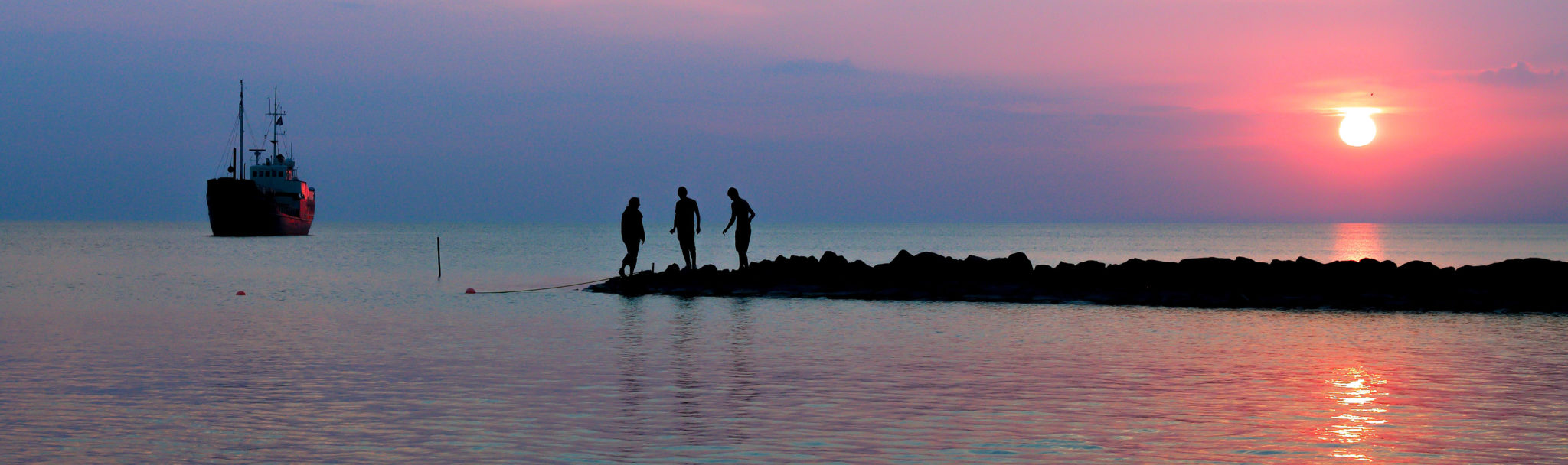 Sunset_Stavoren_Gruppe_sleider