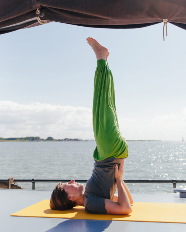 Yoga Segeln: Komm an Bord!